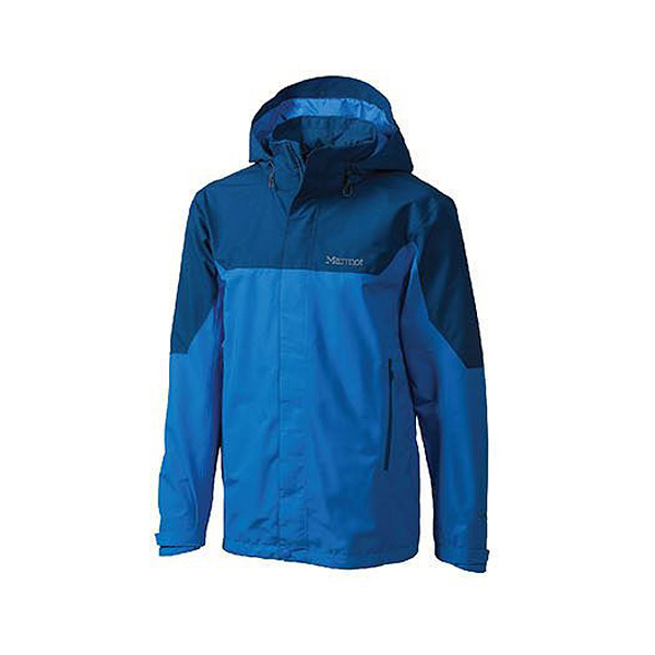 [Marmot] Palisades GTX (男) 兩件式外套 藍 (M30400-2958)
