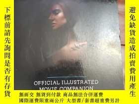 二手書博民逛書店Divergent罕見official illustrated movie companion分歧者官方電影畫冊