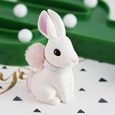 鑰匙扣小兔子汽車鑰匙扣女士韓國創意公仔背包書包雙肩包掛飾可愛包掛件【優惠兩天】