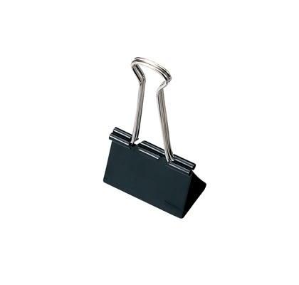SDI手牌長尾夾 0224B黑色長尾夾32mm(黑色)12入/盒