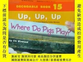 二手書博民逛書店英文繪本7冊:Where罕見Do Pigs Play_Up, U