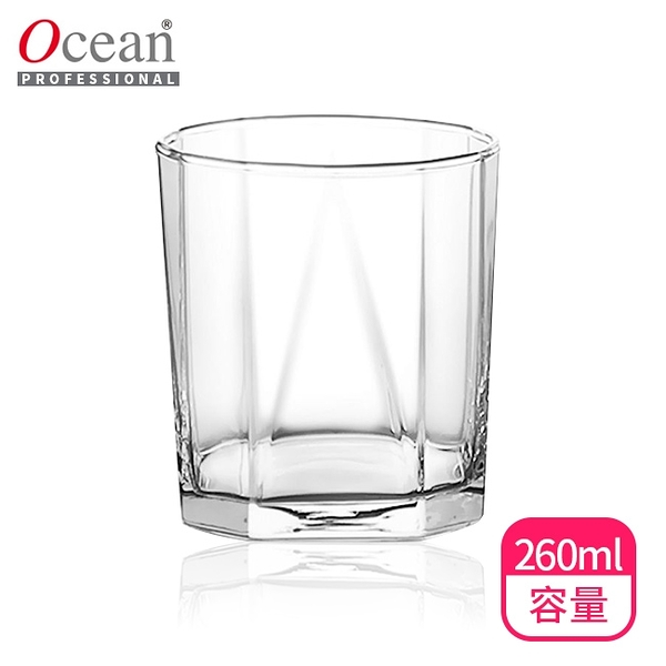 【Ocean】Pyramid金字塔威士忌杯260ml(B2309)烈酒杯