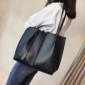 韓版時尚大容量手提包百搭簡約休閒側背包女包學生【非凡上品】h408