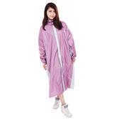 【東門城】M2R M5(粉銀) 全開式雨衣 反光設計