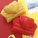 新款棉衣寶寶輕薄兒童羽絨棉服外套男女童衣服中大童棉襖冬裝『快速出貨』