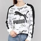 PUMA 流行系列CLASSICS手繪風圓領衫 59521452【iSport愛運動】