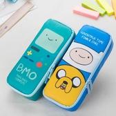 韓國可愛筆簾卡通筆袋大容量多功能文具盒袋 小學生學習用品獎品