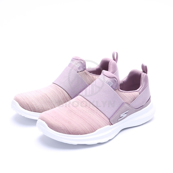 SKECHERS GO RUN MOJO-ENSURE 粉 紫 編織 襪套 女 (布魯克林) 2019/4月 15116MVE