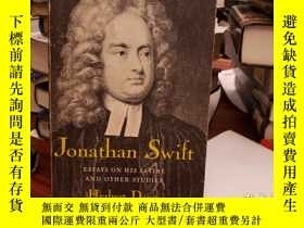 二手書博民逛書店Jonathan罕見Swift: Essays On His S