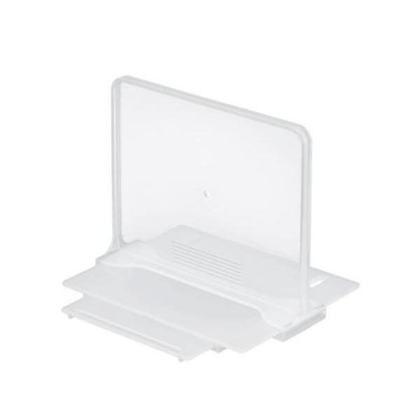 小禮堂 Inomata 日本製 抽屜專用收納隔板 12cm (透明款) 4905596-46378