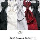 領帶領結 香港結皺領帶禮白色結搭配西服領結攝影新郎英倫結婚晚宴領帶男士 韓菲兒
