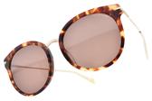 JILL STUART 太陽眼鏡 JS58006 3A ( 琥珀-金) 現代元素大框款 # 金橘眼鏡