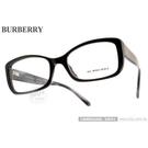 BURBERRY 光學眼鏡 BU2130A 3001 (黑) 時尚格紋 平光鏡框 # 金橘眼鏡