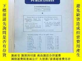 二手書博民逛書店荷蘭早期出版的目錄罕見英文 LIST OF MATHEMATIC