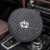 男女時尚汽車內飾用品皇冠鑲鑽車載車用CD包CD夾CD袋光盤包裝cd的 流行花園
