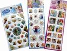 【卡漫城】 迪士尼 公主 貼紙 3張一組 ㊣版 水晶 冰雪奇緣 泡棉 白雪 長髮 貝兒 小美人魚 睡美人