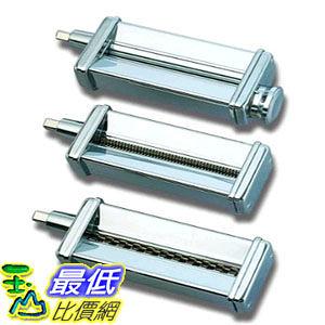 [美國直購] KitchenAid KPRA Pasta Roller & Cutter Set 義大利麵 製麵機配件 三件式(_U32)