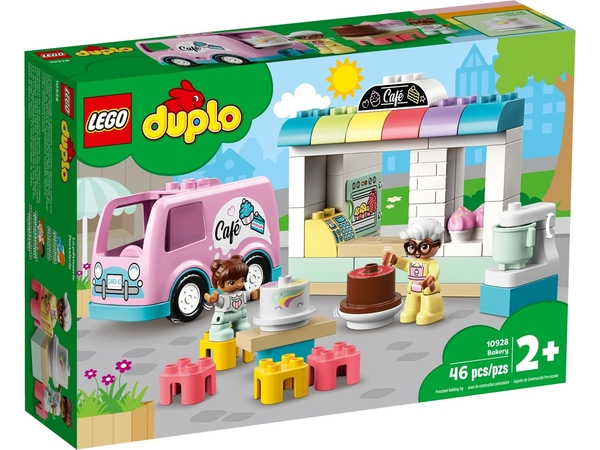 【愛吾兒】LEGO 樂高 duplo得寶系列 10928 麵包店