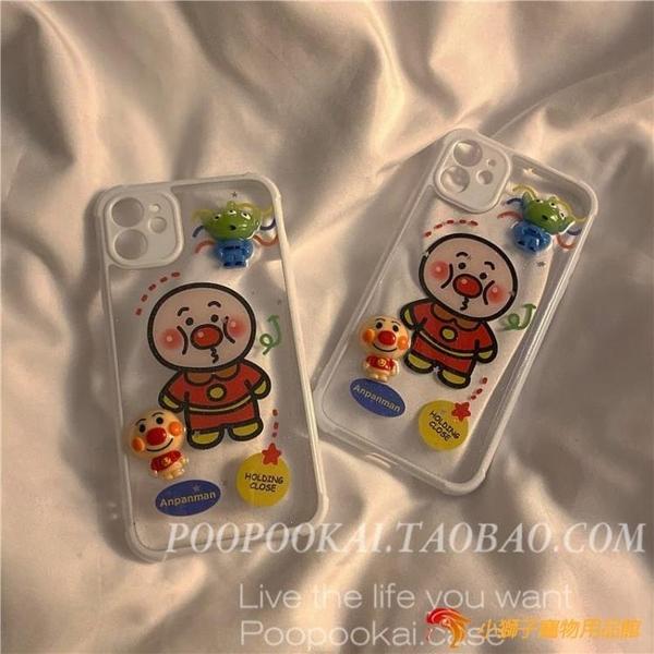 手機保護套卡通動漫適用蘋果11promax麵包超人手機殼iphone7/8plus軟xr男女se【小獅子】