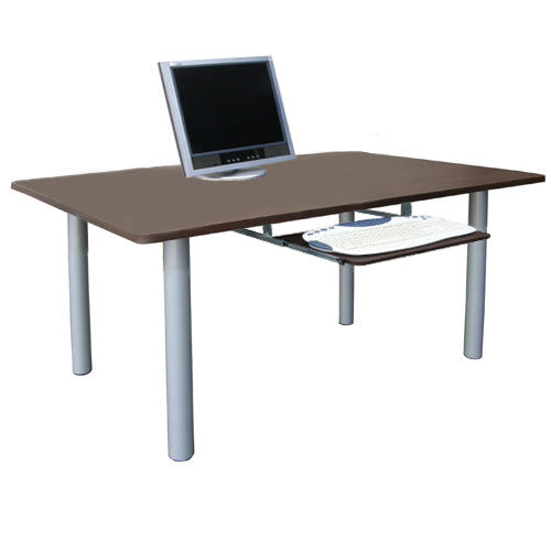 台灣製[60x120x50高cm]書桌 電腦桌 辦公桌[附鍵盤](3色)TB60120BL+K