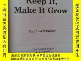 二手書博民逛書店MONEY罕見: How to get it , keep it ,and MAKE IT GROWY1928