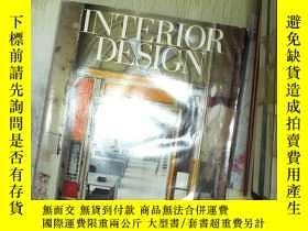 二手書博民逛書店美國室內設計罕見INTERIOR DESIGN 2005 05Y