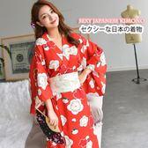 日系和服浴袍衣cosplay女仆裝演出服【步行者戶外生活館】