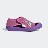 Adidas Altaventure C [D97899] 中童鞋 運動 休閒 快乾 涼鞋 雨鞋 水鞋 魔鬼氈 粉紫