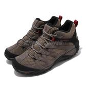 Merrell 戶外鞋 Alverstone Mid GTX 棕 黑 男鞋 運動鞋 Gore-Tex 防水 【ACS】 ML033023