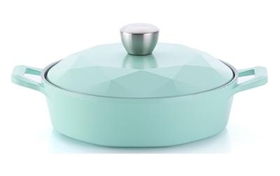韓國NEOFLAM Carat 鑽石頂級陶瓷不沾鍋 (火鍋湯鍋 24cm) 【韓國代購】