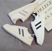 平底鞋女春季爆款百搭小白鞋女新款運動老爹貝殼板鞋