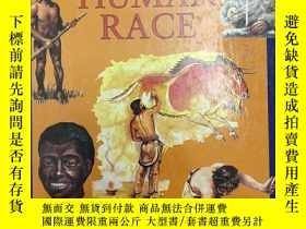 二手書博民逛書店1994年版罕見The human race 人類發展進化史 精裝英文版 兒童故事繪本英語閱讀Y259256