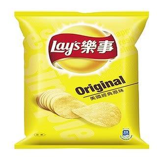 Lay s 樂事 美國經典原味 洋芋片(小) 43g