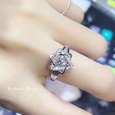 S925純銀 六芒星 靈動戒指-維多利亞180533