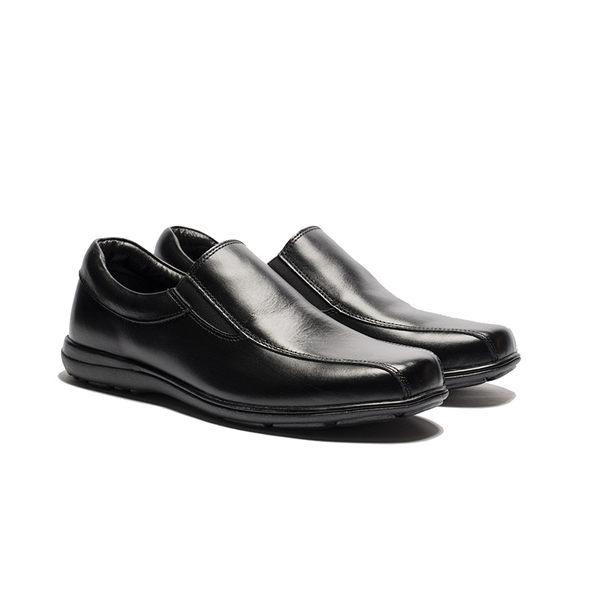 Waltz-紳休閒鞋612078-02黑