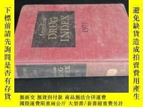 二手書博民逛書店DRUG罕見INDEX 1975Y5919 看圖 看圖
