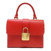 LOUIS VUITTON LV 路易威登 紅色EPI手提斜背兩用包 Locky BB M53239 【BRAND OFF】