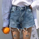 熱褲寬鬆學生牛仔超短褲女夏
