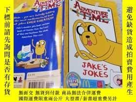 二手書博民逛書店adventure罕見time冒險時間Y200392