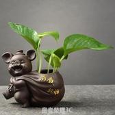 創意綠蘿水培花瓶植物盆器鮮花瓶插花瓶水養容器小擺件裝飾品家居YTL 皇者榮耀