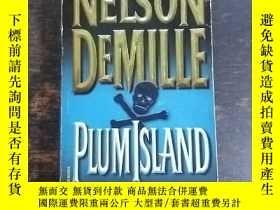 二手書博民逛書店英文原版:Plum罕見IslandY10164 Nelson D
