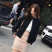 春秋季裝正韓新品牛仔外套女式短款小寬鬆休閒學生上衣夾克潮