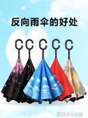 雙層反向傘汽車雨傘車載車用長柄反骨反開反方向折疊logo定制廣告