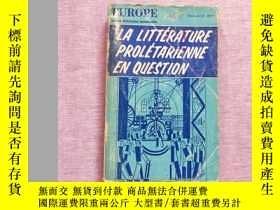 二手書博民逛書店EUROPE:LA罕見LITTERATURE PROLETARI