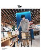 韓版夏季純色男士短袖POLO衫寬鬆刺繡潮流學生翻領T恤【onecity】