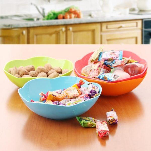 [超豐國際]家用客廳塑料水果盤零食盤糖果盤 創意現代干果盤瓜子盤果盤果盆