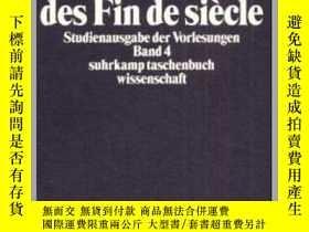 二手書博民逛書店Das罕見Lyrische Drama Des Fin De SiecleY364682 Peter Szon