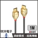 LINDY林帝 GOLD LINE HDMI 2.1 (TYPE-A) 公 TO 公 (37601) 傳輸線 1公尺/1M/1/米