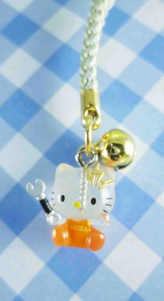 【震撼精品百貨】Hello Kitty 凱蒂貓~限定版手機吊飾-秋葉原-橘