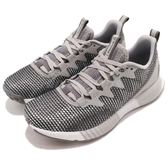 Reebok 慢跑鞋 Fusion Flexweave 灰 白 全新科技針織鞋面 運動鞋 女鞋【PUMP306】 CN2858